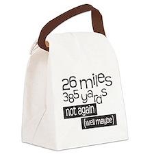 Funny 26.2 Marathon Canvas Lunch Bag