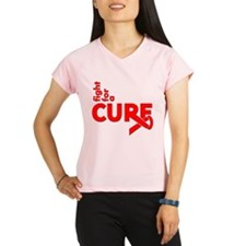AIDS Fight For A Cure Performance Dry T-Shirt