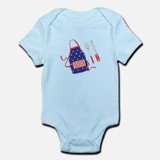 Patriotic Grill Accessories Body Suit