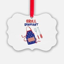 GRILL SERGEANT Ornament
