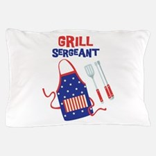 GRILL SERGEANT Pillow Case