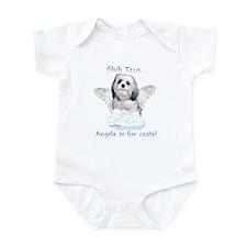 Shih Tzu Angel Infant Bodysuit