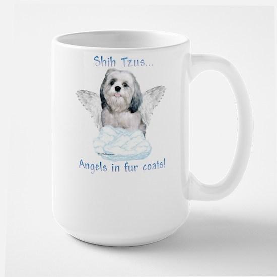 Shih Tzu Angel Large Mug
