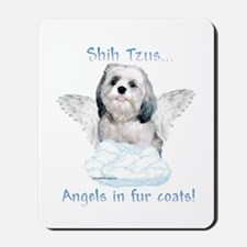 Shih Tzu Angel Mousepad