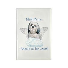 Shih Tzu Angel Rectangle Magnet