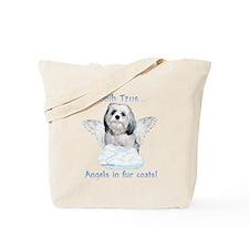 Shih Tzu Angel Tote Bag