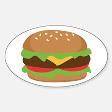 Hamburger Decal