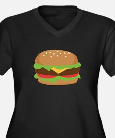Hamburger Plus Size T-Shirt