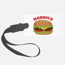 Manwich Luggage Tag