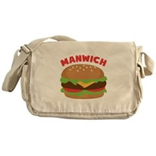 Manwich Messenger Bag
