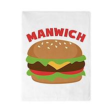 Manwich Twin Duvet