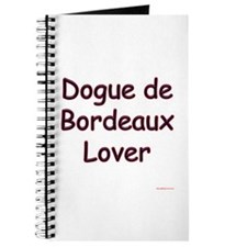 Dogue Lover Journal