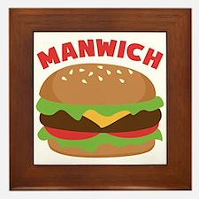 Manwich Framed Tile