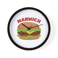 Manwich Wall Clock