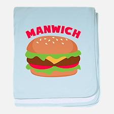 Manwich baby blanket