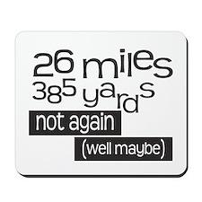 Funny 26.2 Marathon Mousepad