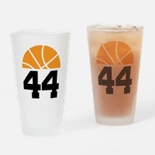 Basketball Number 44 Player Gift Drinking Glass
