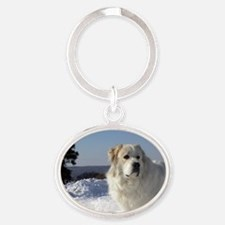great pyr Oval Keychain