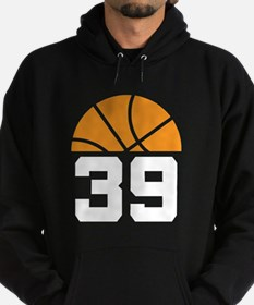 Basketball Number 39 Player Gift Hoodie