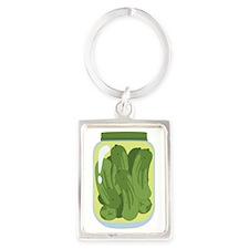 Pickle Jar Keychains