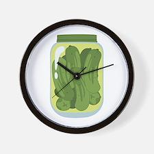 Pickle Jar Wall Clock