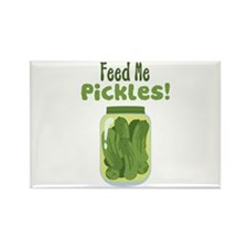 Feed Me Pickles! Magnets