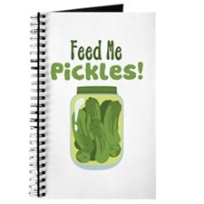 Feed Me Pickles! Journal