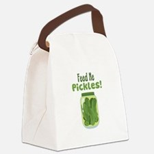 Feed Me Pickles! Canvas Lunch Bag