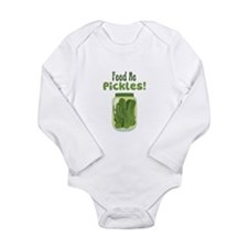 Feed Me Pickles! Body Suit