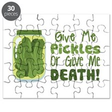 Give Me Pickles Or Give Me DEATH! Puzzle