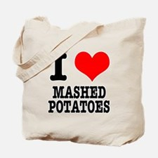 I Heart (Love) Mashed Potatoes Tote Bag