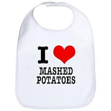 I Heart (Love) Mashed Potatoes Bib