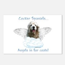 Cocker Angel Postcards (Package of 8)