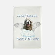 Cocker Angel Rectangle Magnet