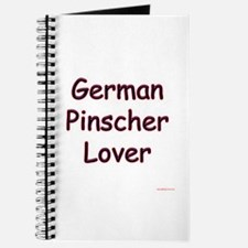 Pinscher Lover Journal