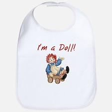 I'm A Doll Bib
