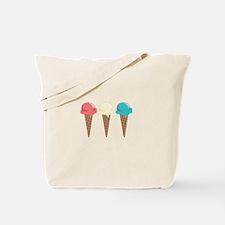 Ice Cream Border Tote Bag