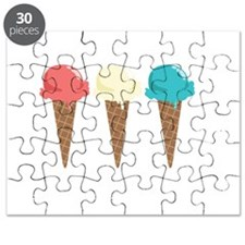 Ice Cream Border Puzzle
