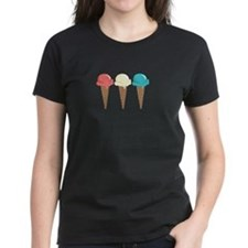 Ice Cream Border T-Shirt