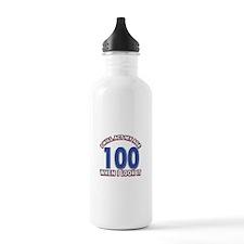 Will act 100 when i feel it Water Bottle