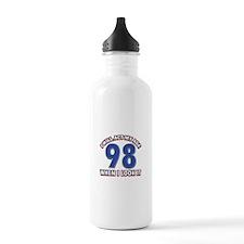 Will act 98 when i feel it Water Bottle
