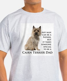 Cairn Terrier Dad T-Shirt