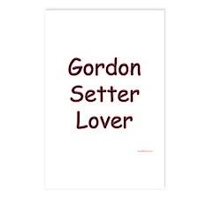 Gordon Lover Postcards (Package of 8)
