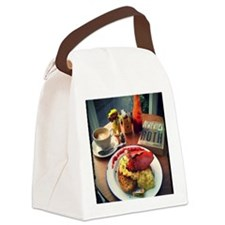 Full Anglo-American Canvas Lunch Bag