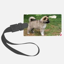 IcelandicSheepdog029 Luggage Tag