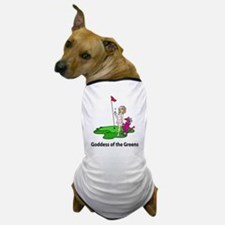 Goddess of Golf Dog T-Shirt