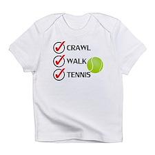 Crawl Walk Tennis Infant T-Shirt