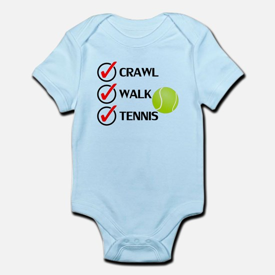 Crawl Walk Tennis Body Suit