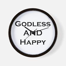 GODLESS Wall Clock