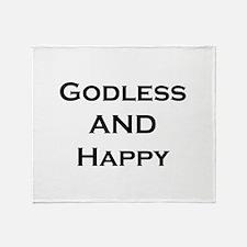 GODLESS Throw Blanket